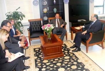 Yüksek öğretimde stratejik işbirliği adımları; Büyükelçi Korsunskiy ve YÖK Başkanı Saraç bir araya geldi