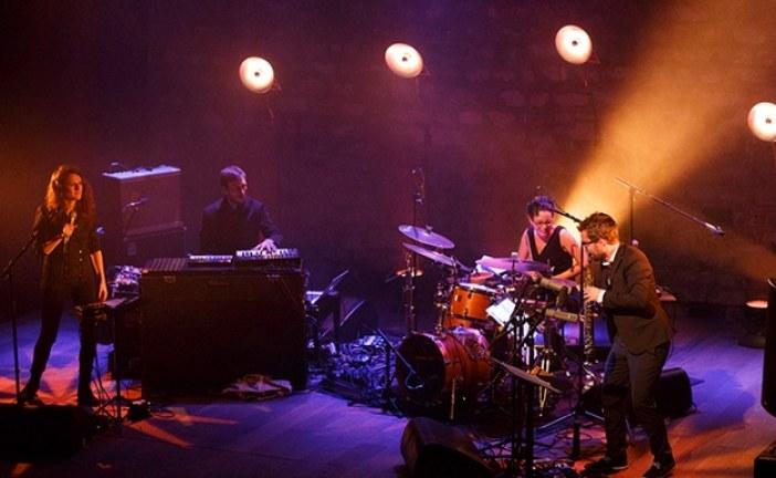 Kiev'deki Marinskiy Park'ta ücretsiz Jazz konseri