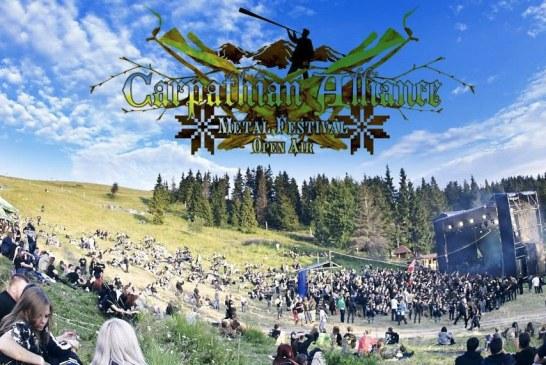Metal müzik tutkunları Kiev'de buluşuyor, Carpathian Alliance Metal Festival 29 Temmuz'da başlıyor
