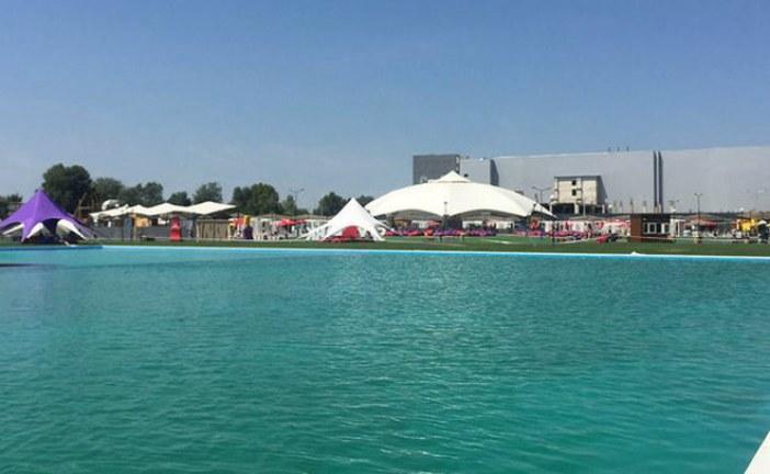 1500 m2… Ukrayna'nın en büyük açık hava havuzu açılıyor