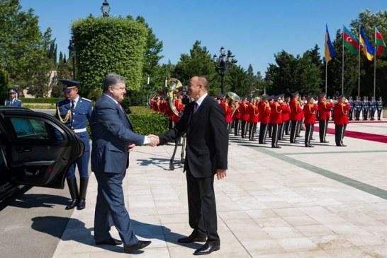 Poroşenko; 'Dağlık Karabağ'ı tanımıyoruz, Azerbaycan'ın Kırım konusundaki benzer tutumunu selamlıyoruz'
