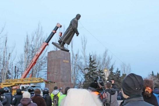 Euromeydan'ın ardından… 2013'ten bu yana 1018 Lenin heykeli kaldırıldı