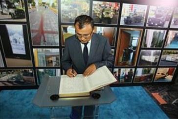 Başkonsolos Bodnar IBB'nin taziye defterini imzaladı, 'Ukrayna halkı Türk dostları ile birlik içinde'
