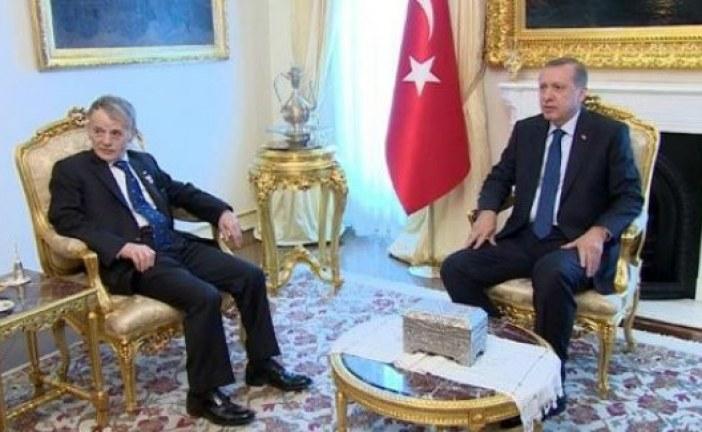 Erdoğan'dan Kırımoğlu'nun mektubuna cevap; 'Kırım Tatarlarının desteği bize güç verdi'