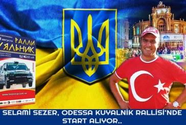 Mücadele devam ediyor; Türk rallici Odesa'daki Kuyalnik Rallisi'ne katılıyor