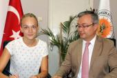 Ukraynalı voleybolcu Türk takımına transfer oldu