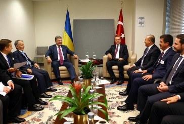 Erdoğan ve Poroşenko New York'ta bir araya geldi