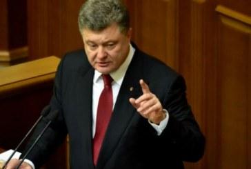 Poroşenko, 'ülke genelinde sıkıyönetim tek bir şartla söz konusu olur'
