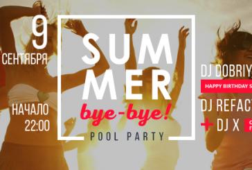 VDNH'da havuz başı partisi, 'Summer bye bye' sabaha kadar sürecek