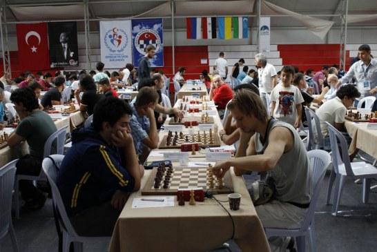Ankara'da düzenlenen satranç turnuvasında Ukraynalı sporcular şampiyon oldular