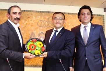 Türkiye-Ukrayna ekonomik ilişkiler toplantısı, Başkonsolos Vasyl Bodnar'ın katılımı ile gerçekleşti