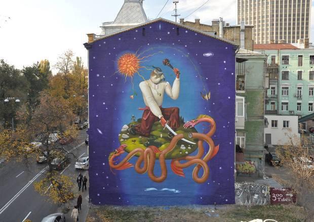 kiev-mural