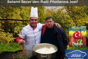 Ralli pilotu Selami Sezer'den Ukraynalı yarışçılara jest (galeri)