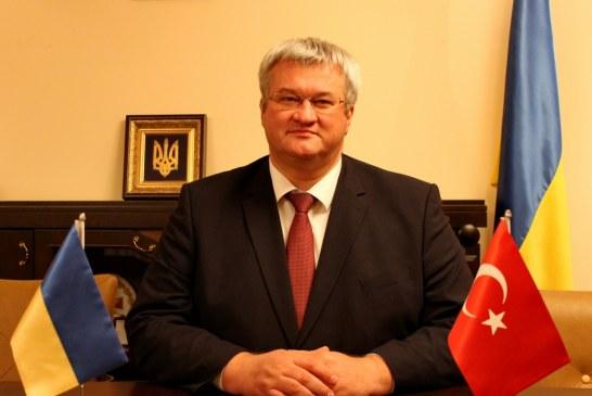 Büyükelçi Sybiha Ukrayna basınına konuştu; 'Serbest Ticaret Anlaşması'na çok yakınız'