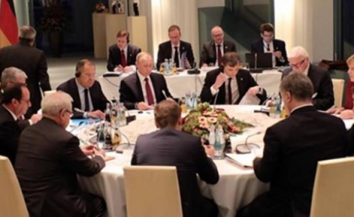 Ukrayna krizinde çözüm çabaları, liderler Berlin'de buluştu