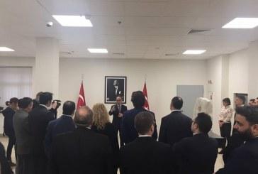Atatürk 10 Kasım'da Kiev Büyükelçiliği'nde anıldı