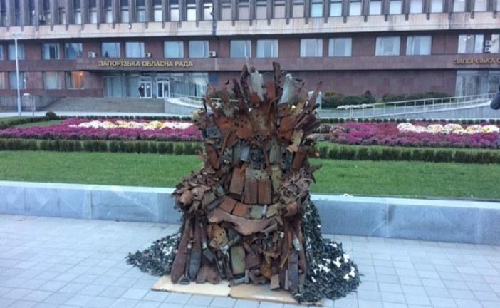Ukrayna askerlerinin yaptığı 'game of thrones' tahtı açık arttırmada satıldı, işte fiyatı