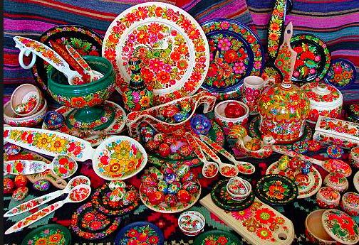 Yılbaşı öncesi son alışverişler, İvan Honchar müzesi Ukrayna el işi ürünlerine kapılarını açtı