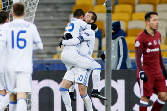 Kiev'de kabus gecesi, Dinamo Kiev 6 – Beşiktaş 0 (video)