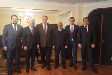 DEİK Yürütme Kurulu Ukrayna'nın Ankara Büyükelçisi Andrii Sybiha'yı ziyaret etti