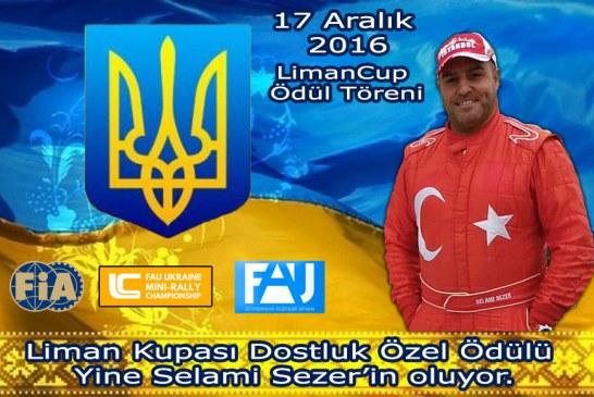 Ukrayna Liman Kupası Dostluk Ödülü bir kez daha Türk ralliciye verilecek