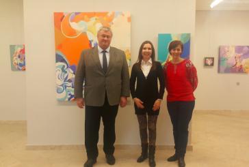 Türkiye'de 21'inci sanat yılı, Ukraynalı ressam Olga Grafova Ankara'da resim sergisi açtı
