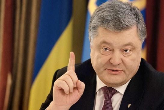 Poroşenko'dan sert açıklamalar, 'bu şaka değil, bunun adı savaştır'