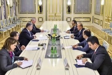 Глава держави провів зустріч з Міністром закордонних справ Туреччини