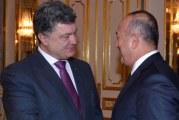 Devlet Başkanı Poroşenko ve Dışişleri Bakanı Çavuşoğlu Kiev'de bir araya geldi