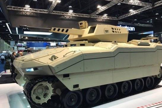 2017 IDEX savunma fuarında iki araç, Türk yapımı Kaplan ve Ukrayna yapımı Fantom