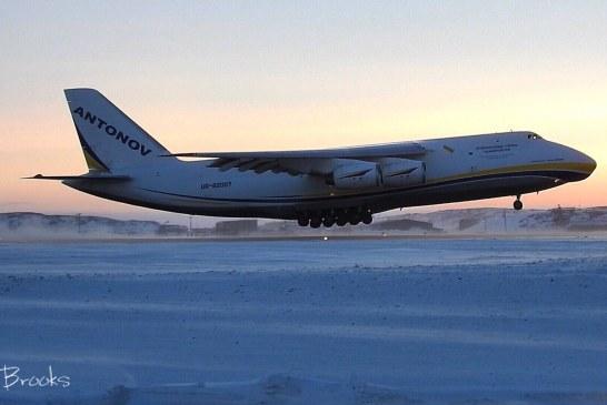 Boeing 'yolda kaldı', yardımına Ukrayna yapımı AN – 124 yetişti (video)