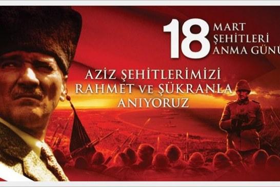 Bugün 18 Mart.. Çanakkale Zaferi'nin 103. yıldönümü