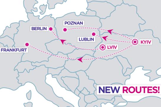 Wizz air Ukrayna'dan Avrupa'ya dört yeni hat açıyor