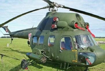 Ukrayna'da askeri helikopter düştü, mürettebat hayatını kaybetti