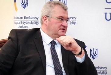 Ukrayna'nın Ankara Büyükelçisi Sybiha: Türkiye'ye kararlı Kırım tutumu için teşekkürler