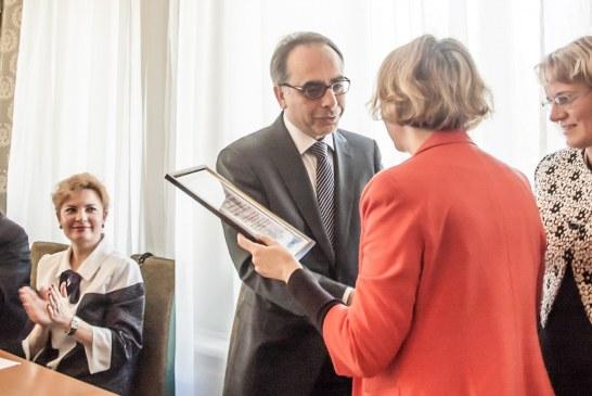 Türkiye – Ukrayna diplomatik ilişkilerinin 25. yılı, Taras Şevçenko Üniversitesi'nde kutlandı