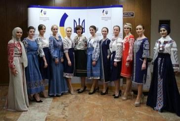 Ukrayna'nın renkleri Ankara'da sergilendi, Vişivanka Günü'ne yoğun ilgi (galeri)