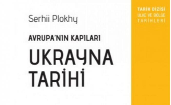 Harvard profesörü Ukraynalı yazarın kitabı Türkçe'ye çevrildi