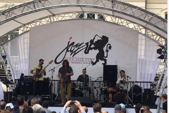 Foto hayat, Lviv Jazz Festivali'nde ilk kez bir Türk grup sahne aldı