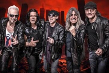 Bir kez daha geliyorlar, Scorpions Kiev'de konser verecek