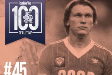 Ukraynalı Oleg Blohin futbol tarihinin en iyileri arasına girdi