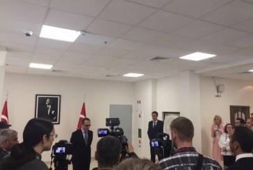 Kiev Büyükelçiliği'nde 15 Temmuz anma töreni düzenlendi
