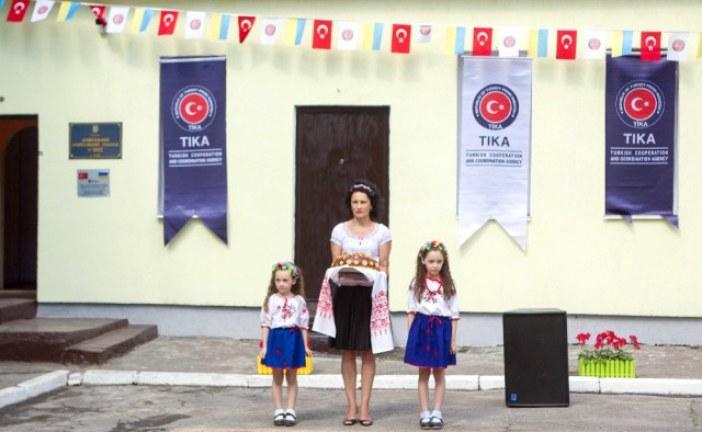 Tika'dan, Kiev'deki bir anaokuluna tadilat desteği