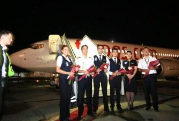 Ankara Odesa arası bir buçuk saat, Pegasus'un uçuşları başladı