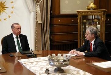 Cumhurbaşkanı Erdoğan, Kırım Tatar lideri Kırımoğlu'nu kabul etti