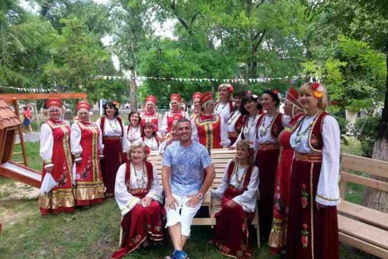 Odesa Bölgesi'ndeki kültür festivaline Türk yemekleri damgasını vurdu (galeri)