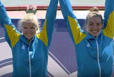 Sporda bir başarı daha, Ukraynalı kürekçiler Avrupa şampiyonasında altın madalya kazandılar