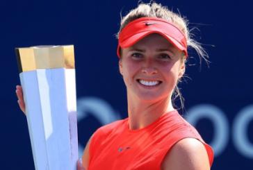 Kanada'da Ukraynalı rüzgarı; Elina Svitolina şampiyon oldu