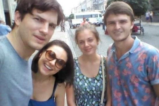 Ukrayna'dan bir yıldız geçti, Hollywood yıldızı Mila Kunis doğduğu şehirde