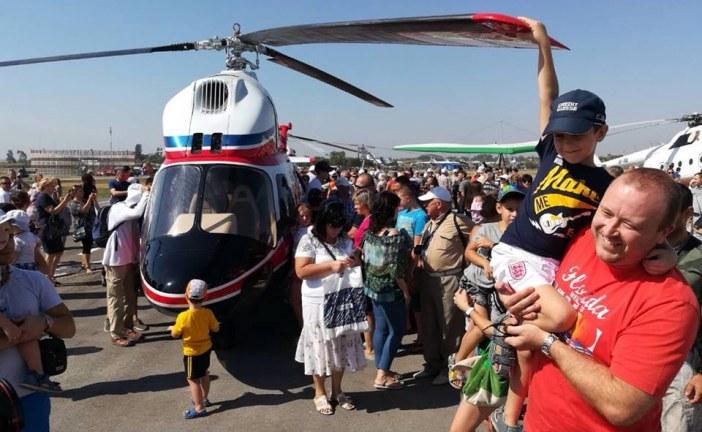 Yüzde 100 yerli malı, Ukrayna'nın ilk helikopteri görücüye çıktı